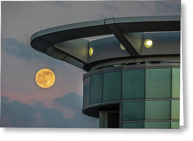 Strawberry Moon - Radisson Plaza Hotel Greeting Card