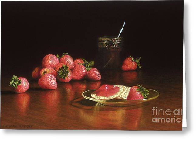 Strawberry Preserves Greeting Card