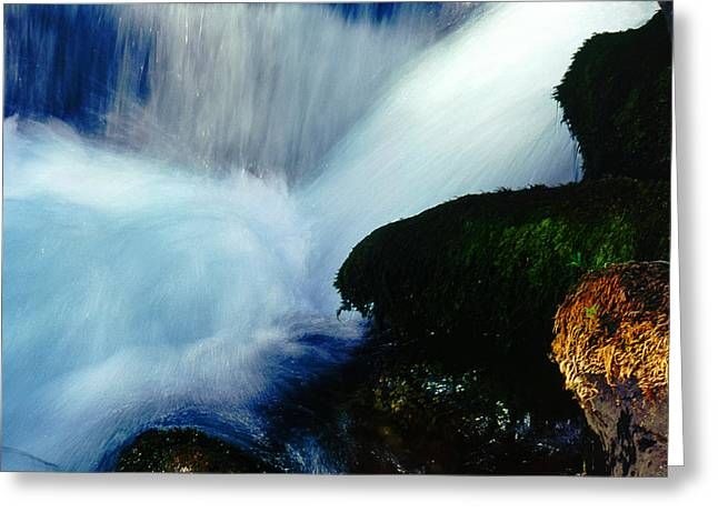 Greeting Card featuring the photograph Stream 5 by Dubi Roman