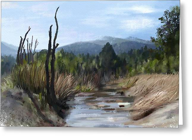 Stream Greeting Card by Ivana Westin