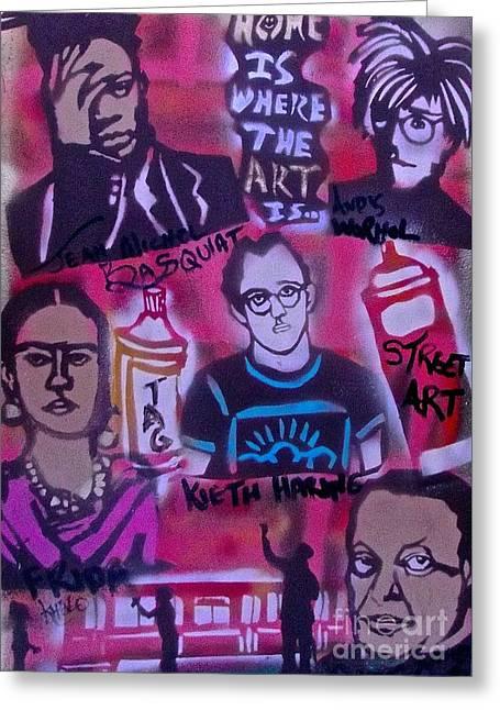 Street Art 101 Greeting Card by Tony B Conscious