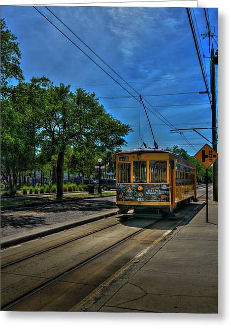 Street Car 435 Greeting Card by Marvin Spates