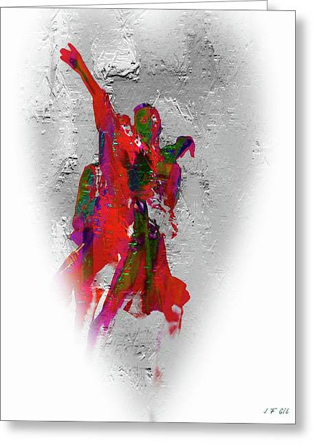 Street Dance 8 Greeting Card