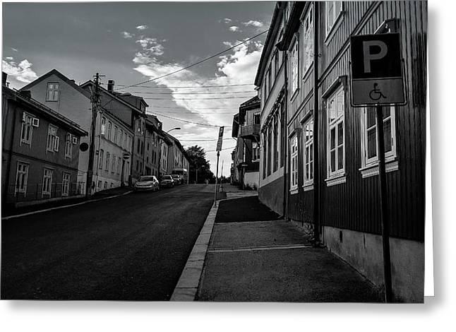 Street In Toyen Greeting Card