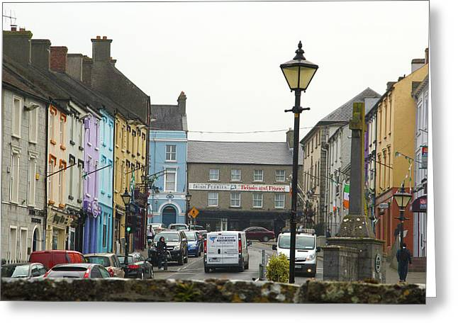 Streets Of Cahir Greeting Card
