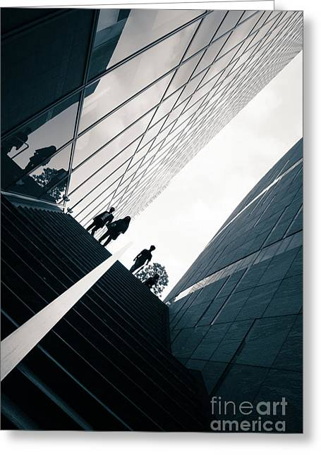 Street Photography Tokyo Greeting Card by Jane Rix