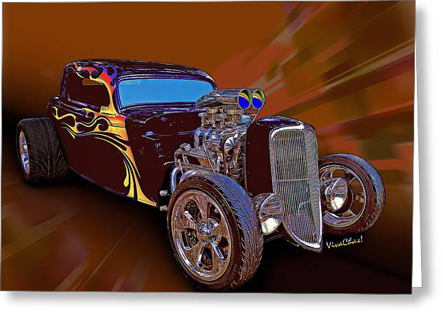 Street Rod What Is It Greeting Card