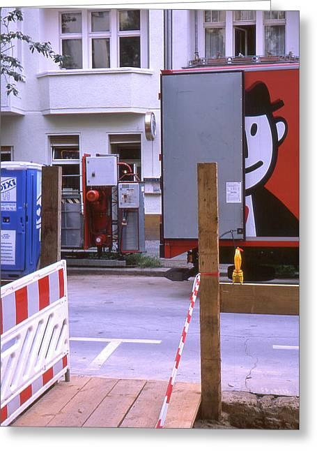 Street Works Greeting Card