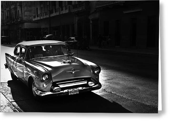 Streets Of Cuba 1 Greeting Card
