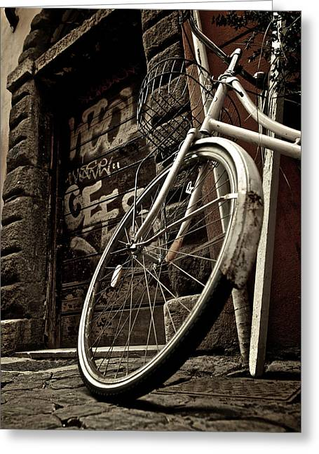 Streets Of Rome Greeting Card