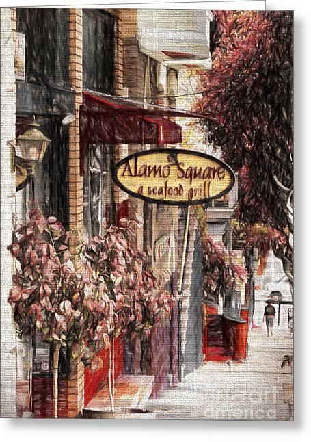 Streets Of San Fran Greeting Card