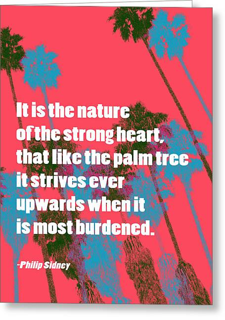 Strength In Nature Greeting Card by John Fish