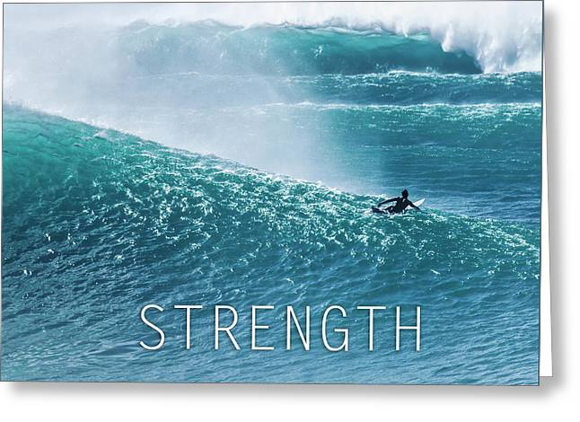 Strength. Greeting Card