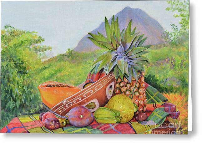 Strictly St Lucian Greeting Card