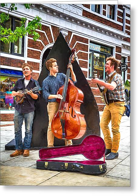 String Trio Greeting Card