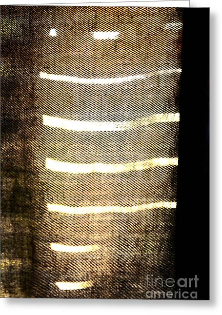 Greeting Card featuring the photograph Stripes And Texture by Todd Blanchard