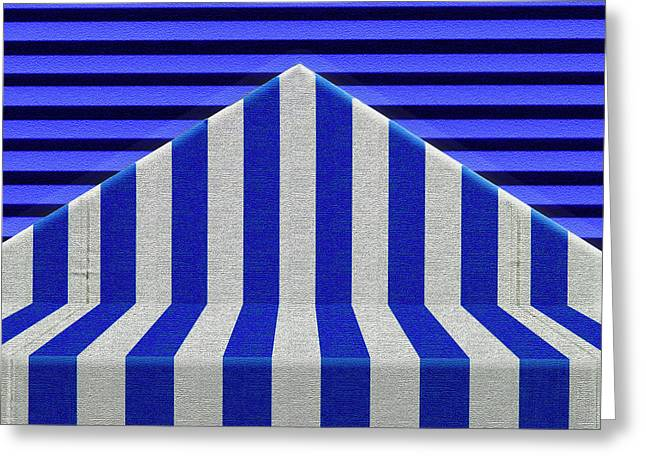 Greeting Card featuring the photograph Stripes by Paul Wear