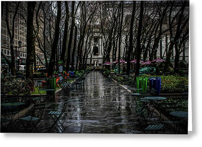 Stroll In The Park  Greeting Card