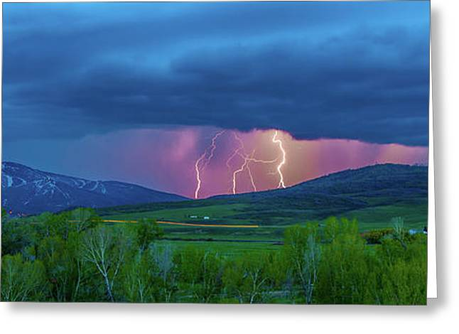 Storm Peak  Greeting Card