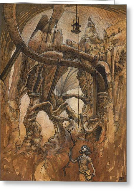 Strunk Cavern Greeting Card