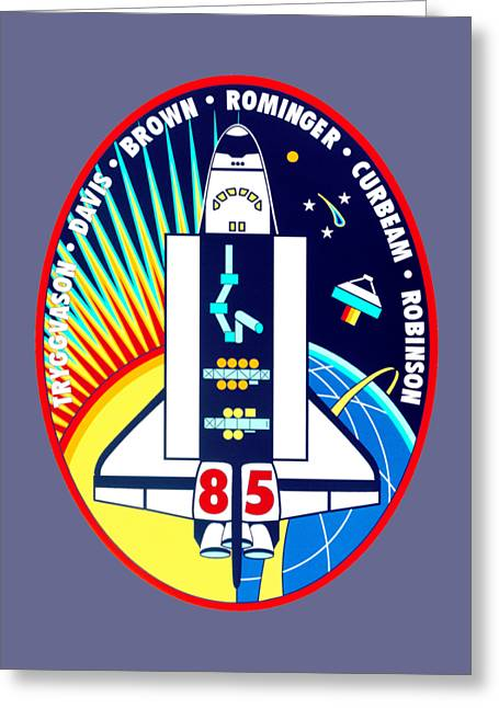 Sts-85 Insignia Greeting Card by Art Gallery