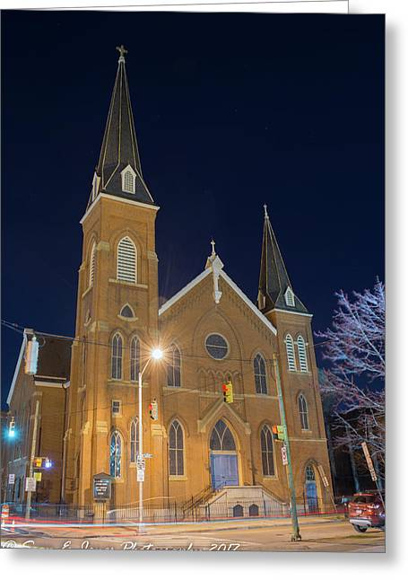 Sts. Stephen And James Evangelical Lutheran Church Greeting Card