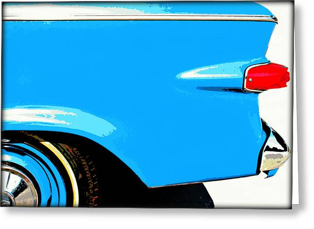 Studebaker 3 Greeting Card by Elizabeth Budd