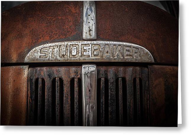 Studebaker Greeting Card by Ray Congrove