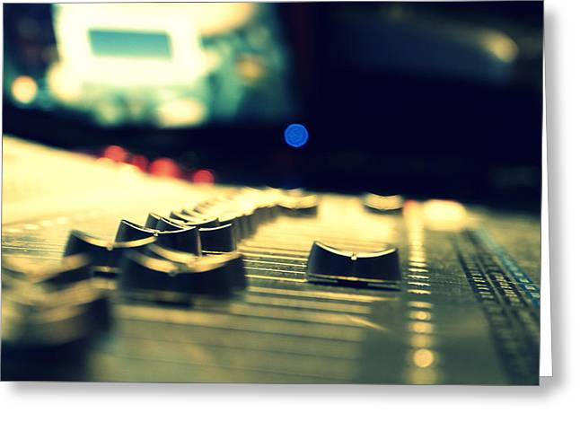 Studio Moments - Faders Greeting Card
