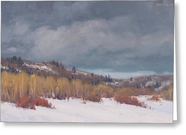 Study For Early Winter Greeting Card