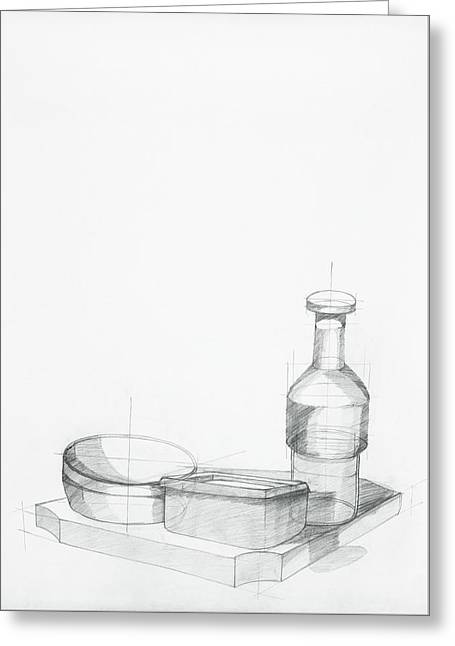 Study Of Kitchen Objects Greeting Card