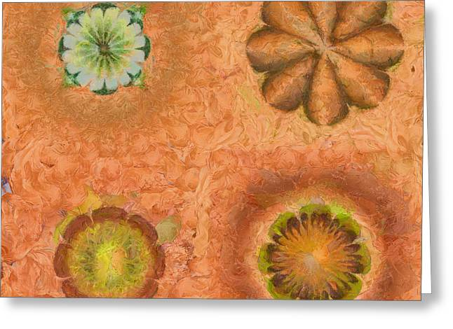 Stupors In Dishabille Flowers  Id 16164-231024-21520 Greeting Card by S Lurk