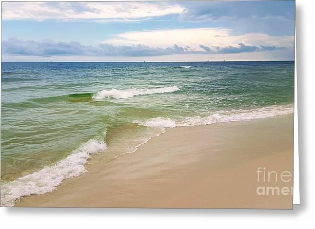 Sublime Seashore  Greeting Card