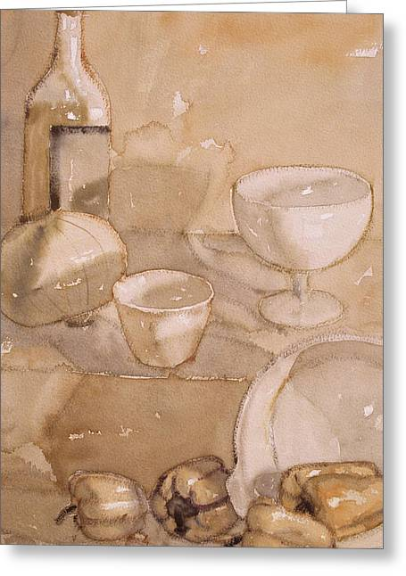 Subtle Still Life Greeting Card