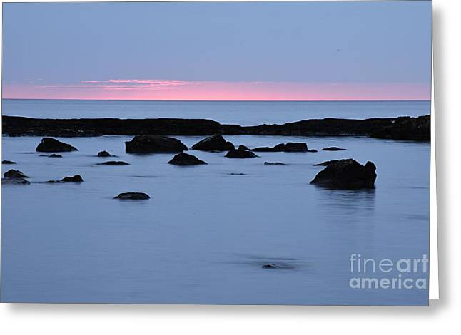 Greeting Card featuring the photograph Subtle Sunrise by Larry Ricker
