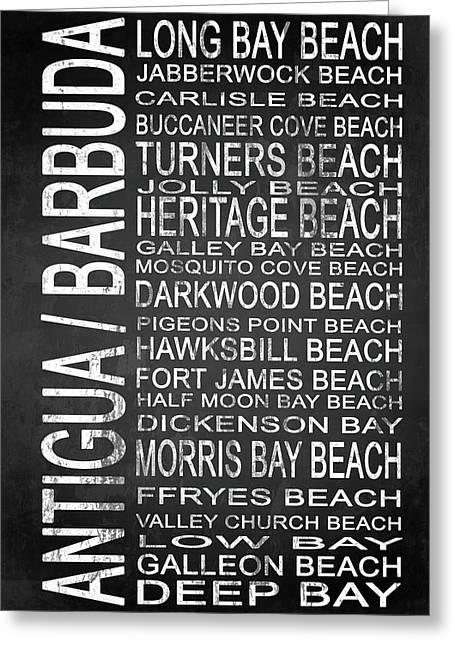 Subway Antigua Barbuda 1 Greeting Card