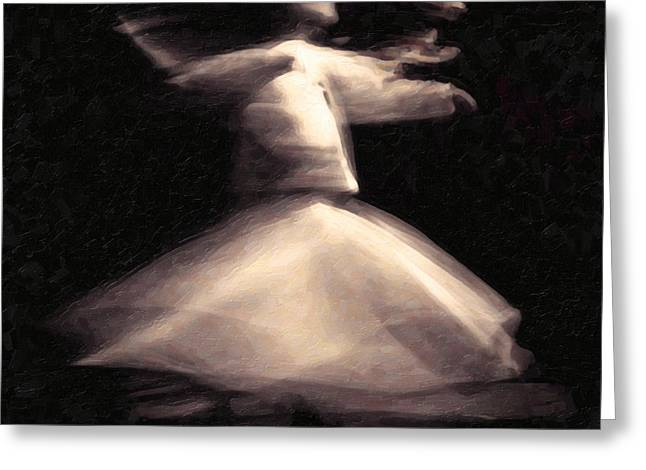 Sufism Art Greeting Card by MotionAge Designs