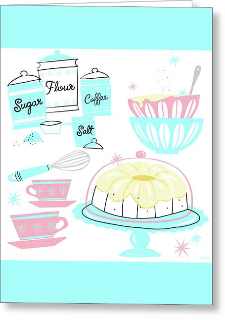 Sugar And Spice And Everything Nice Greeting Card by Little Bunny Sunshine