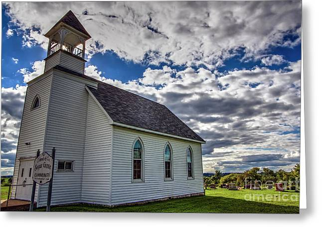 Greeting Card featuring the photograph Sugar Grove by Gary Holmes