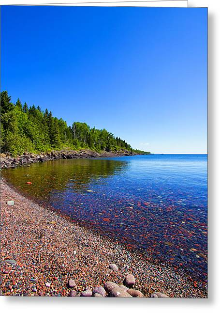 Sugarloaf Cove Greeting Card by Bill Tiepelman