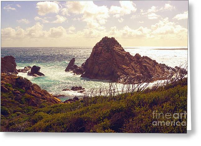 Sugarloaf Rock Ix Greeting Card by Cassandra Buckley