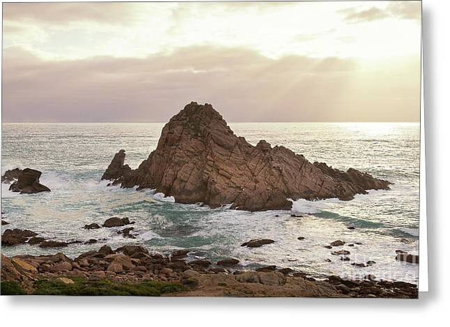 Greeting Card featuring the photograph Sugarloaf Rock Sunset by Ivy Ho