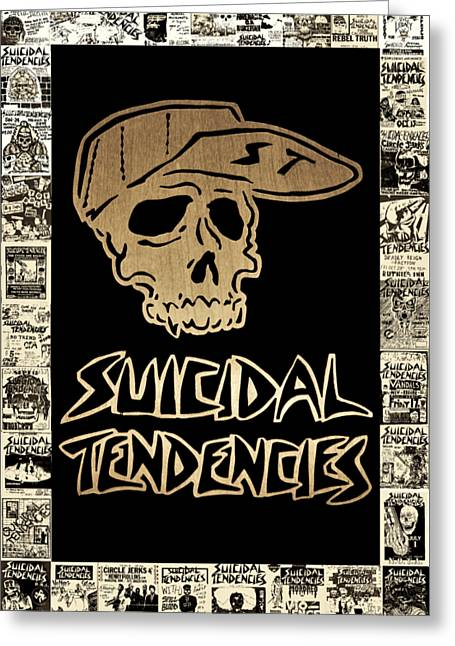 Suicidal Tendencies 2 Greeting Card