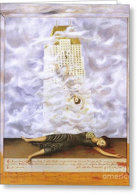 Suicide Of Dorothy Hale Greeting Card