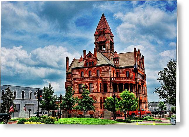 Sulphur Springs Courthouse Greeting Card