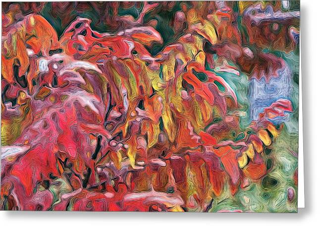 Sumac Swirl Greeting Card