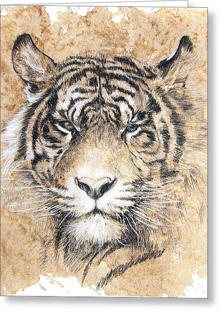 Sumatra Greeting Card by Debra Jones