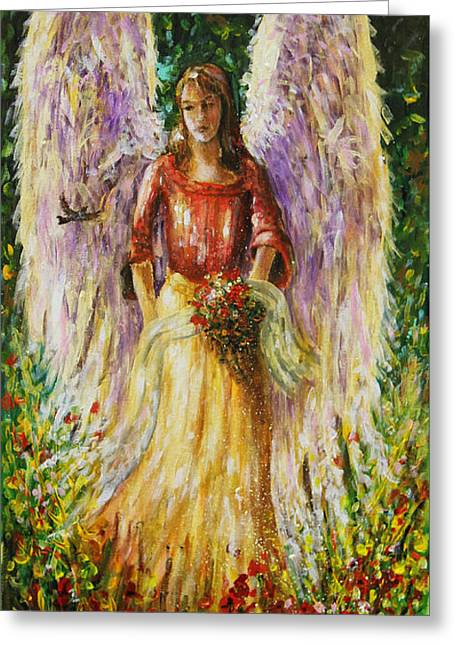 Summer Angel Greeting Card