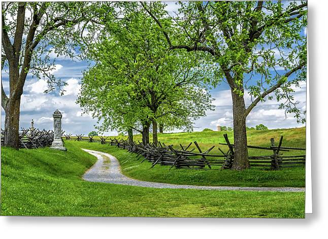 Greeting Card featuring the photograph Summer At Antietam National Battlefield by Lori Coleman