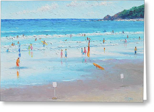 Summer At Byron Bay Greeting Card